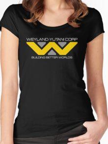 WEYLAND YUTANI ALIEN (2) Women's Fitted Scoop T-Shirt