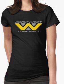 WEYLAND YUTANI ALIEN (2) Womens Fitted T-Shirt
