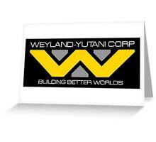 WEYLAND YUTANI ALIEN (2) Greeting Card
