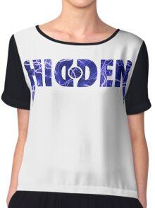Hidden Storm Chiffon Top