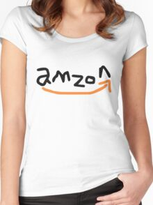 amzon Women's Fitted Scoop T-Shirt