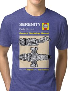Haynes Manual - Serenity - T-shirt Tri-blend T-Shirt