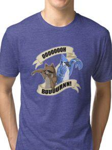 Regular Show - Buuurnn Tri-blend T-Shirt