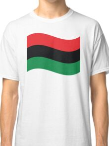 Red, Black & Green Flag Classic T-Shirt