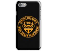 TYRELL CORPORATION - BLADE RUNNER (YELLOW) iPhone Case/Skin