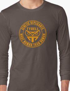 TYRELL CORPORATION - BLADE RUNNER (YELLOW) Long Sleeve T-Shirt