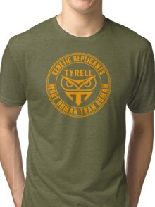 TYRELL CORPORATION - BLADE RUNNER (YELLOW) Tri-blend T-Shirt