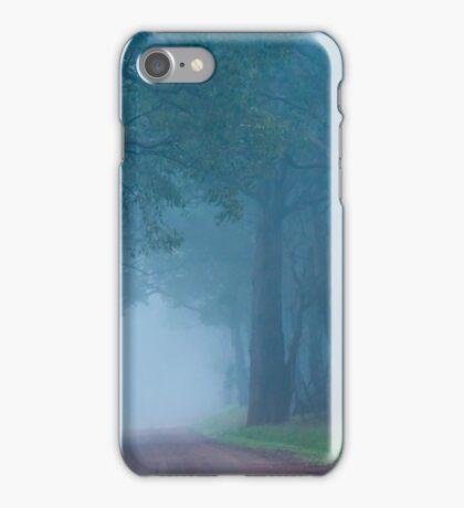 Foggy Lane iPhone Case/Skin