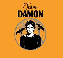Team Damon. Damon Salvatore. Unisex T-Shirt