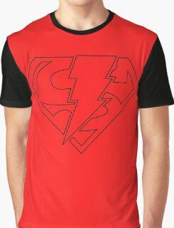 Super-Shazam - Version A Graphic T-Shirt