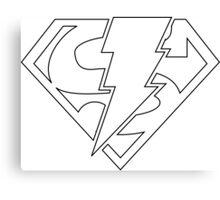 Super-Shazam - Version A Canvas Print