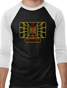 STAR WARS DROP THE BOMB X-WING Men's Baseball ¾ T-Shirt
