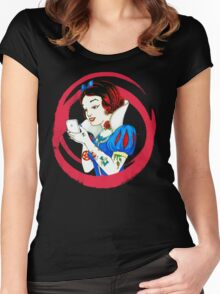 Punk princesses #1 Women's Fitted Scoop T-Shirt