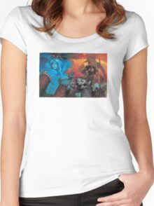 Altered Beast Retro Game Women's Fitted Scoop T-Shirt