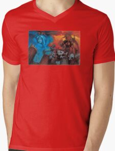 Altered Beast Retro Game Mens V-Neck T-Shirt