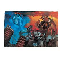 Altered Beast Retro Game Photographic Print