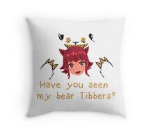 LoL - Have you seen my bear Tibbers? Throw Pillow