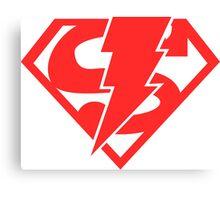 Super-Shazam - Version B Canvas Print