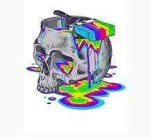 Rainbow Painted Skull Unisex T-Shirt