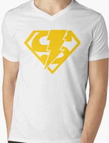 Super-Shazam - Version C Mens V-Neck T-Shirt