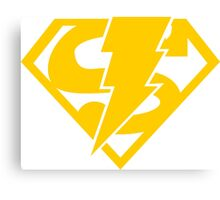 Super-Shazam - Version C Canvas Print