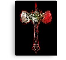 Hell's Armoury: The God Smasher Canvas Print