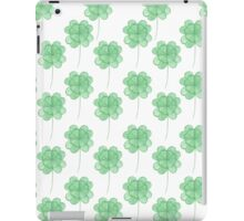 Watercolor clover iPad Case/Skin