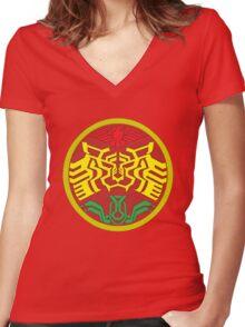 kamen rider Women's Fitted V-Neck T-Shirt