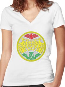kamen rider Women's Fitted V-Neck T-Shirt