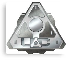 DOOM U.A.C. UAC logo Canvas Print