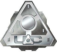 DOOM U.A.C. UAC logo Photographic Print