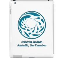 Cetacean Institute iPad Case/Skin