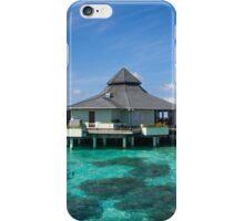 Overwater Restaurant at Maldivian Resort iPhone Case/Skin