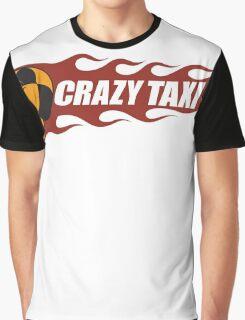 Crazy Taxi Logo Retro 16bit Graphic T-Shirt