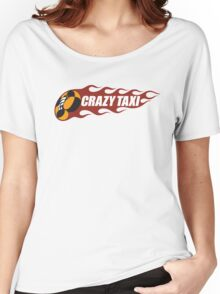 Crazy Taxi Logo Retro 16bit Women's Relaxed Fit T-Shirt