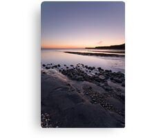 Kimmeridge Bay (Portrait) Canvas Print