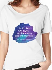 A Court of Mist and Fury - Watercolour Quote Women's Relaxed Fit T-Shirt