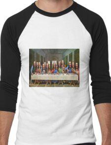 Buddy Jesus- Last Supper Men's Baseball ¾ T-Shirt