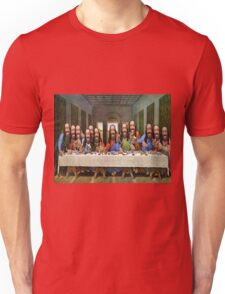 Buddy Jesus- Last Supper Unisex T-Shirt