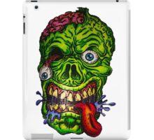 Zombie Skull Brains iPad Case/Skin