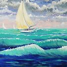 Windy Sail by L.W. Turek