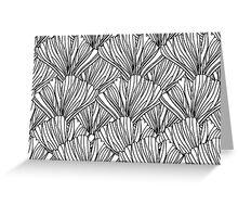 Linework Botanical Greeting Card