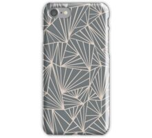 Ab Fan Grey And Nude iPhone Case/Skin