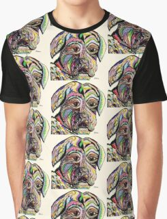Colorful Boxer Graphic T-Shirt