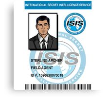 'Duchess' Sterling Archer ID Canvas Print