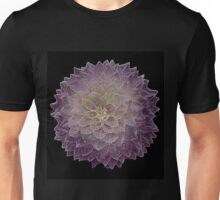 Digital image of a dahlia Unisex T-Shirt