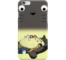 Totoro wallet iPhone Case/Skin