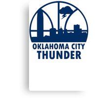 Oklahoma City Thunder Canvas Print