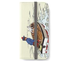 Tintin Boat iPhone Wallet/Case/Skin