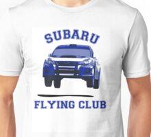 Subaru Flying Club Car Unisex T-Shirt